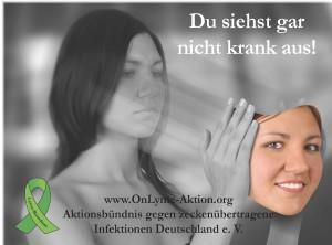 Du siehst gar nicht krank aus Poster Jan 2013