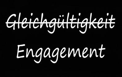 Gleichgültigkeit und Engagement